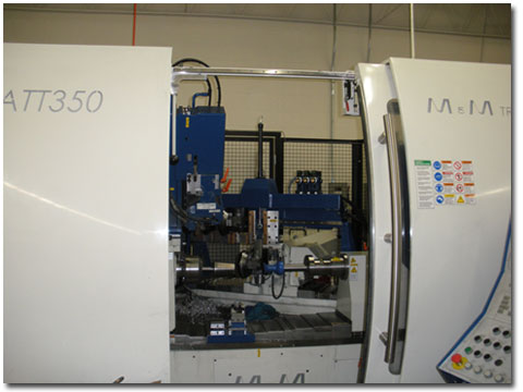 Our M&M CNC Spinning Lathe